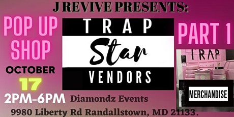 "J Revive Presents: ""Trap Star Vendors"" Part 1 tickets"