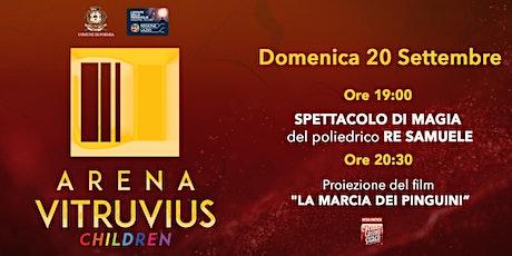 ARENA VITRUVIUS CHILDREN - 20 settembre 2020 biglietti