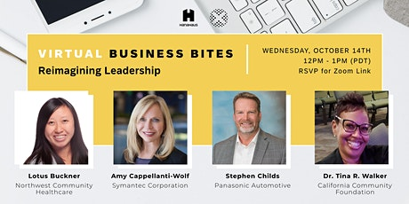 Virtual Business Bites | Reimagining Leadership tickets