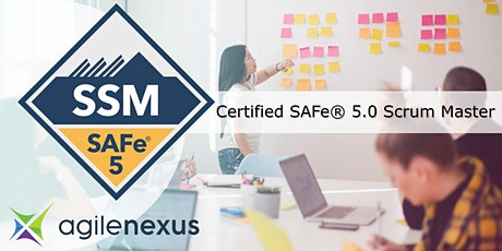 SAFe 5.0 Scrum Master (SSM) Certification Training – Louisville, KY - Oct 9 tickets