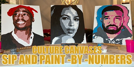 Culture Canvases: Adult Paint by Numbers, Sip and Paint tickets