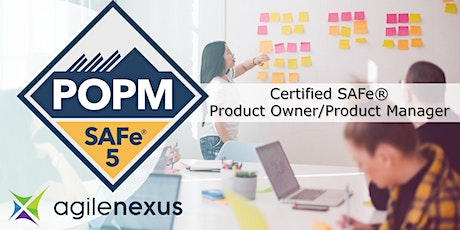 SAFe®5 Product Owner/Product Manager Certification -Louisville, KY - Nov6 tickets