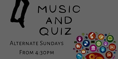 Live music and the Big Sunday Quiz tickets