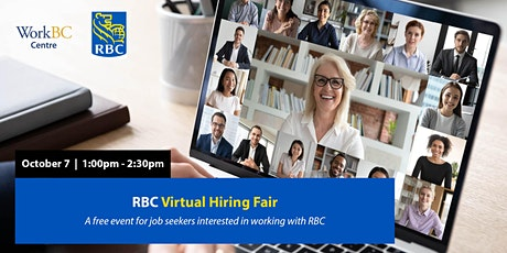 RBC Virtual Hiring Fair tickets