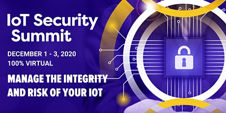 IoT Security Summit tickets