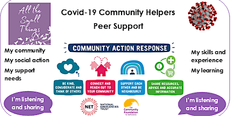 Peer Support & Catch Up for Community Helpers tickets