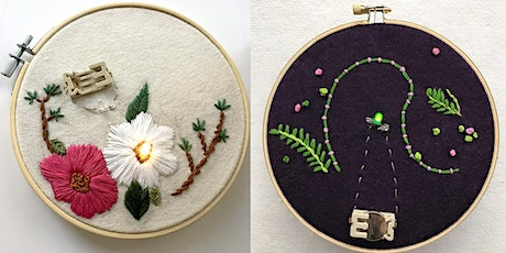 Fun With Embroidery, Botanicals, and LED Lights tickets