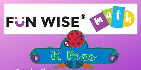 Fun Wise® Math at K Peas Place tickets
