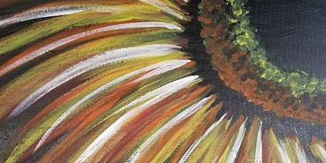 Live Online Event - Sunflower painting tickets