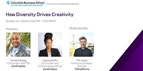 How Diversity Drives Creativity tickets
