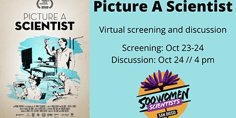 Picture A Scientist Virtual Screening tickets
