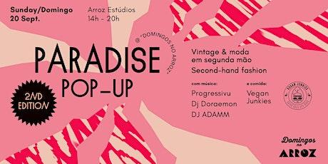 Mercado Vintage Paradise Pop Up II bilhetes