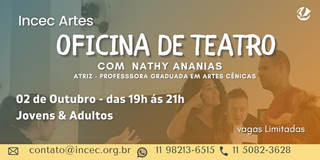 Oficina de Teatro para Jovens e Adultos ingressos