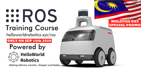 (Offline Course) 2-day ROS Training Course for Beginners tickets