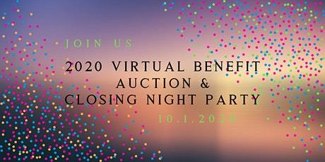 2020 Virtual Benefit Auction & Pop-Up Exhibition tickets