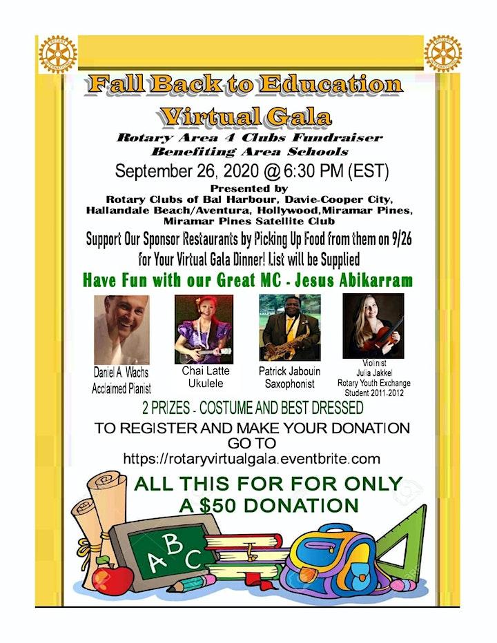 Fall Back to Education Virtual Gala image