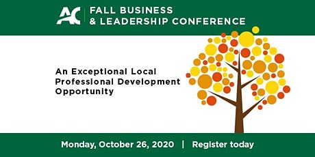 2020 Fall Business & Leadership Virtual Conference tickets