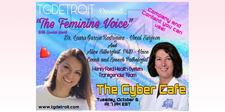 The Feminine Voice with Dr. Laura Garcia Rodriguez & Alice Silbergleit PhD tickets