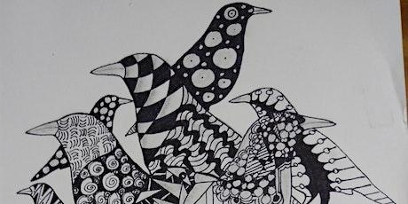 Zia's Zentangle Inspired Art (Ages High School - Adult) tickets