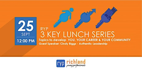 RYP 3 KEY Lunch Series - September tickets