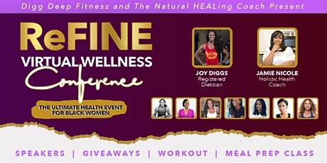 ReFINE Virtual Wellness Conference tickets