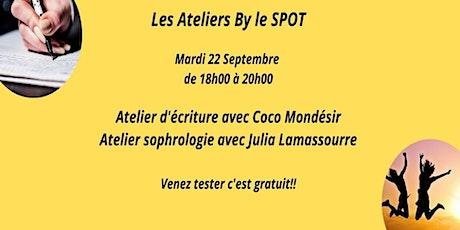 Les ateliers by le Spot billets