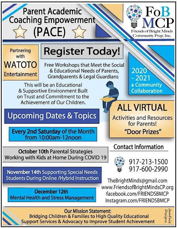 PACE -Parent Academic Coaching Empowerment image