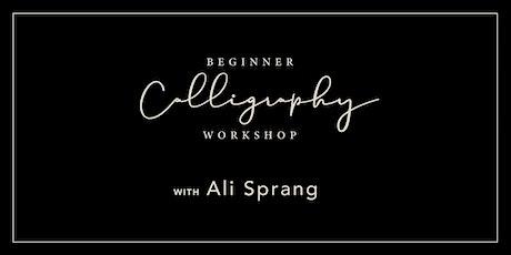Beginner Calligraphy Workshop | Canton, Ohio 12pm tickets