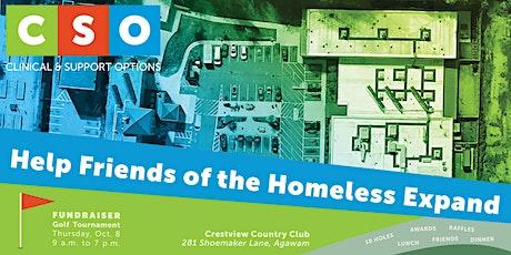 Friends of the Homeless Fundraiser Golf Tournament tickets