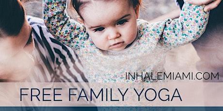 Free Family Yoga tickets