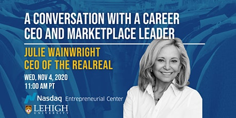 Founders' Leadership Series with Julie Wainwright, CEO of The RealReal