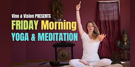 Friday Morning YOGA & MEDITATION tickets