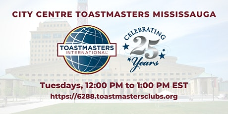 City Centre Toastmasters Club (Mississauga) [online] tickets