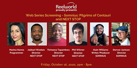Web Series Screening: Somnius: Pilgrims of Centauri and NEXT STOP tickets