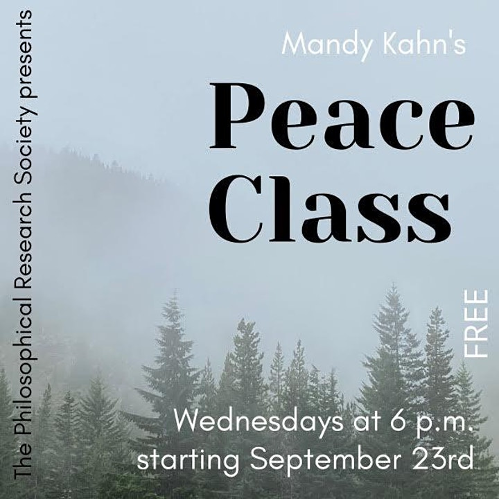 Mandy Kahn's PEACE CLASS image