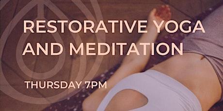 Restorative Yoga & Sound Meditation tickets