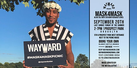 Mask4Mask BROOKLYN - Black SGL Men's Kickback at Prospect Park tickets