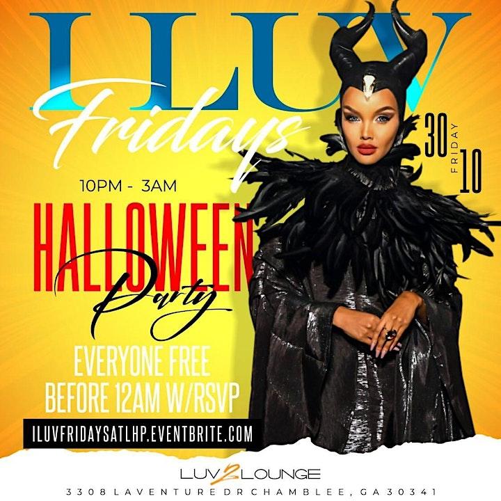 Halloween Costume Parties 2020 Atlanta I LUV FRIDAYS Atlanta Halloween Party 2020 | No Cover before 12am
