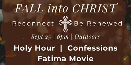 FALL into CHRIST tickets