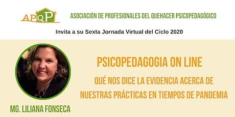JORNADA APQP 2020: Liliana Fonseca boletos