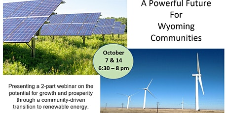 A Powerful Future for Wyoming Communities tickets