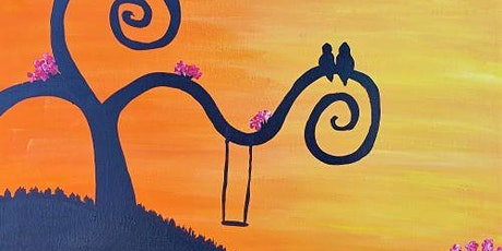 Live Online Painting Event - Sunset Swing tickets