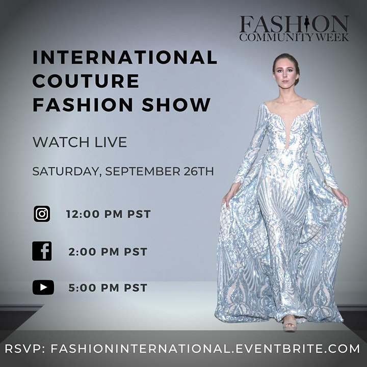 International Couture Fashion Show image