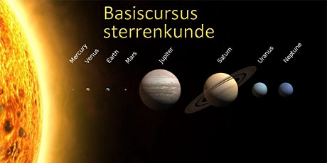 Basiscursus Sterrenkunde (start 14 oktober) tickets