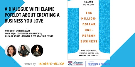 A dialogue with Elaine Pofeldt about creating a business that you love tickets