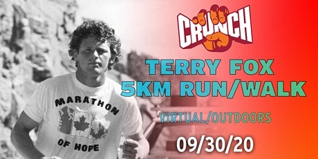 Crunch Canada's Terry Fox: 5KM Run/Walk tickets