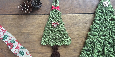 Try Broomstick Crochet! Make a Festive Tree Wall Hanging tickets