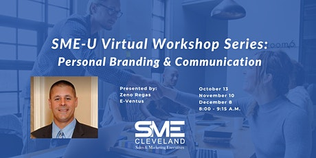 SME-U Virtual Workshop Series: Personal Branding & Communication tickets