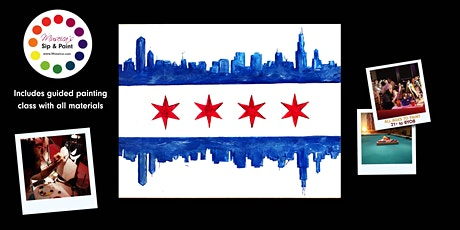 Museica's BYOB  Sip & Paint - CHICAGO FLAG tickets