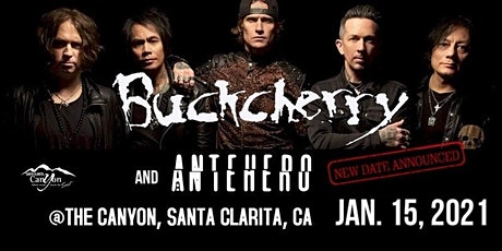Buckcherry with Anthero at The Canyon SCV tickets